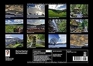Romantischer Schwarzwald (Posterbuch DIN A3 quer): Einer der schönsten Flecke auf dieser Erde (Posterbuch, 14 Seiten) (Calvendo Reise, Städte und Architektur)
