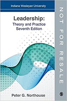 Leadership theory and practice northouse free pdf