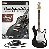 Rocksmith 2014 PC/MAC + 3/4 LA Electric Guitar Black
