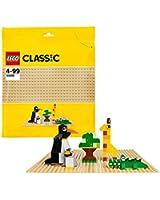Lego® Classic - 10699 - Jeu De Construction - La Plaque De Base Sable