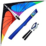 Hengda Kite Delta Stunt Kite For Kids And Adults,70 Inch Outdoor Sports,Beach And Fun Sport Kite