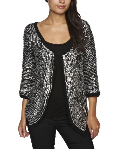 RELIGION LTD Gracious Women's Cardigan Silver X-Small