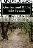 img - for Qur'an and Bible Side by Side: a non-partial anthology book / textbook / text book