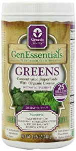 Genessentials Greens - 15.5 oz - Powder