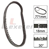 Drive Belt 771-18-30 for Peugeot Speedfight 2 100 X Team 2002