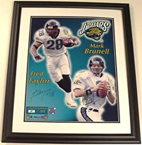 Mark Brunell & Fred Taylor Autographed Hand Signed Jacksonville Jaguars 16x20... by Real Deal Memorabilia