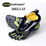 [ビブラム ファイブフィンガーズ]vibram fivefingers 5本指シューズ BIKILA LS メンズ 正規品 M41(26.7cm) Black/Green