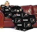 Philadelphia Flyers NHL (Adult) Fleece Comfy Throw