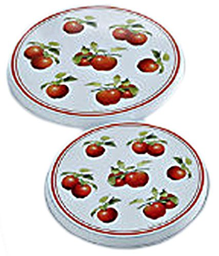 Round Apple Burner Covers