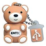 EMTEC M311 Animal Series 4 GB USB 2.0 Flash Drive (Teddy Bear)