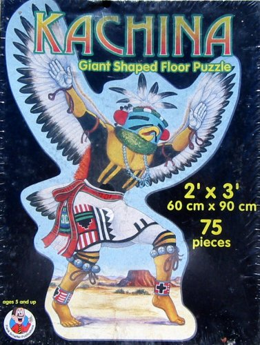 Cheap Frank Schaffer Kachina Giant Shaped Floor Puzzle 75pc. (B00295CVOM)