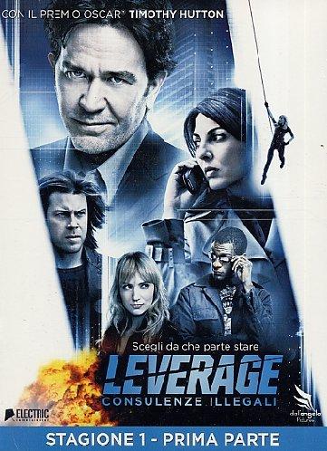 LeverageStagione01Volume01 [Italia] [DVD]
