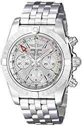 Breitling Men's AB042011-G745 Silver-Tone Stainless Steel Watch