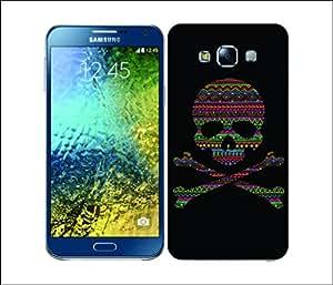 Galaxy Printed 2813 Skulls & Crossbones Aztec Hard Cover for Samsung Core Prime