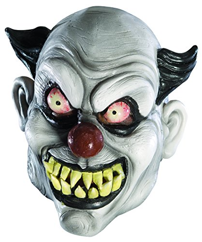 Rubies Child's Clowned 3/4 Vinyl Mask
