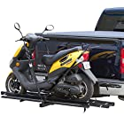 Dirt Bike and Sport Scooter Hitch Mounted Carrier Rack