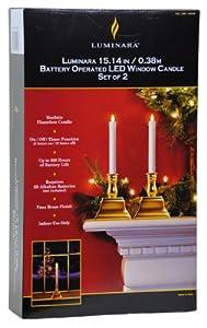 LED Window Candle Set OF 2