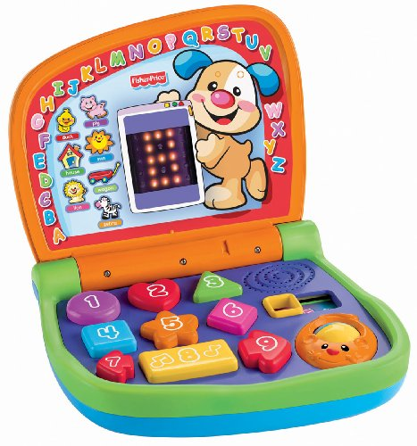 Mattel V2773 - Fisher-Price Lernspaß Laptop