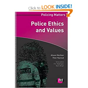 police ethics and values pdf