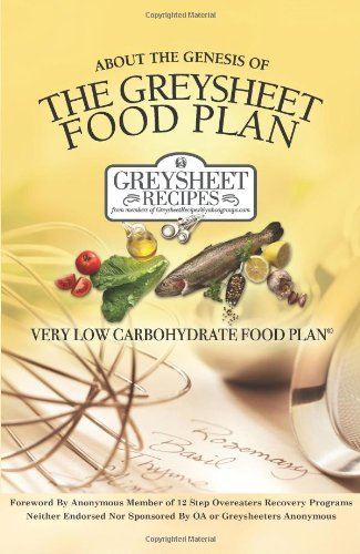 About the Genesis of The Greysheet Food Plan - Very Low Carbohydrate Foodplan & Greysheet Recipes
