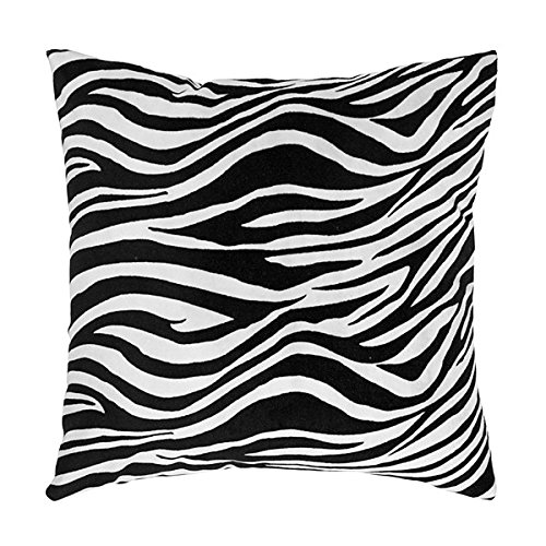 Three Cheers for Girls Zebra Pillow