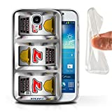STUFF4 Gel TPU Phone Case Cover for Samsung Galaxy S4SIV Sevens Design Slot Machine Collection