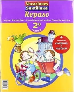 Vacaciones Santillana, lengua, matemáticas, conocimiento