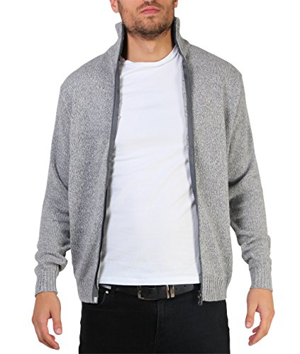 funnel-neck-zipped-cardigan-xl-chest-46-grey
