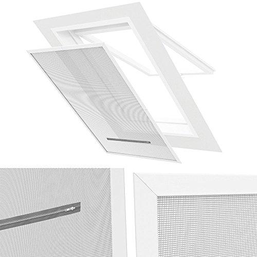 dachfenster pvc klemmrahmen 140 x 170 cm als insektenschutz sonnenschutz sichtschutz und hitzeschutz. Black Bedroom Furniture Sets. Home Design Ideas