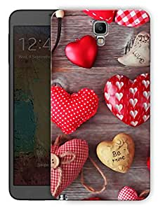 """Humor Gang Heart Chocolates Printed Designer Mobile Back Cover For """"Samsung Galaxy Note 3 Neo"""" (3D, Matte, Premium Quality Snap On Case)"""