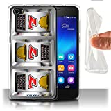 STUFF4 Gel TPU Phone Case Cover for Huawei Honor 6 Sevens Design Slot Machine Collection