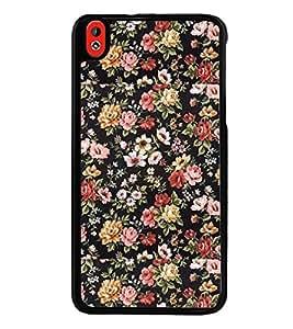 Printvisa Flowers Pattern 2D Hard Polycarbonate Designer Back Case Cover For Htc Desire 816 :: Htc Desire 816 Dual Sim :: Htc Desire 816G Dual Sim