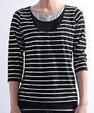 (クローズトラック)CLOTHES TRUCK 7分袖Tシャツ レディース / 天竺 トリプルレイヤード 7分袖 Tシャツ UVケア