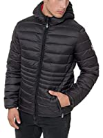 Geographical Norway Chaqueta Guateada Cola (Negro)