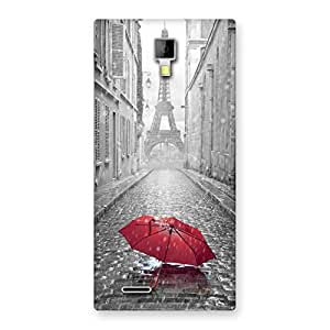 AJAYENTERPRISES New Tower Red Umbrella Back Case Cover for Micromax Canvas Xpress A99