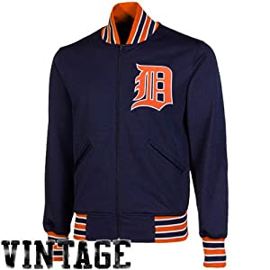 MLB Mitchell & Ness Detroit Tigers Cooperstown Collection Authentic Full Zip BP... by Mitchell & Ness