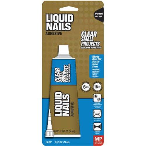 Z Bond Bathroom Kitchen Silicone Msds: Liquid Nails LN207 All Purpose 2.5-Ounce Adhesive