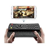 Techno S - iPega New Wireless Bluetooth keyboard Game Controller+Multi remote control 3 in 1 For Iphone/Ipod/Ipad... by Techno S