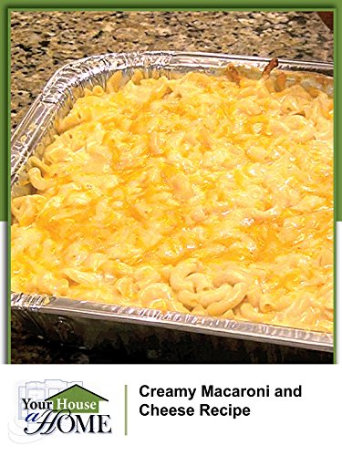 Creamy Baked Macaroni and Cheese (Garden Graduation Party)