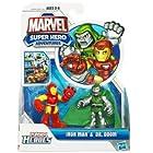 Marvel Super Hero Adventures Playskool Heroes Iron Man & Dr Doom Action Figure 2-Pack