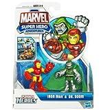 Playskool Heroes Super Hero Adventures Iron Man And Doctor Doom