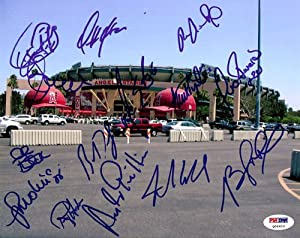 2005 Anaheim Angels Autographed Signed 8x10 Photo Mike Scioscia PSA DNA #Q06610 by Hollywood Collectibles