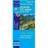 Oloron-Ste-Marie : 1/25 000 (Carte de randonnée Top 25)