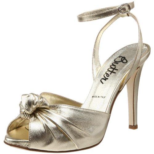 Butter Women's Stanley Ankle-Strap Peep-Toe Platform