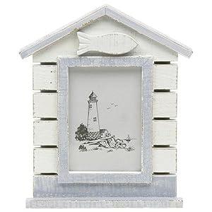 Sandy bay coastal style beach hut photograph frame 6 x 4 for Beach hut style