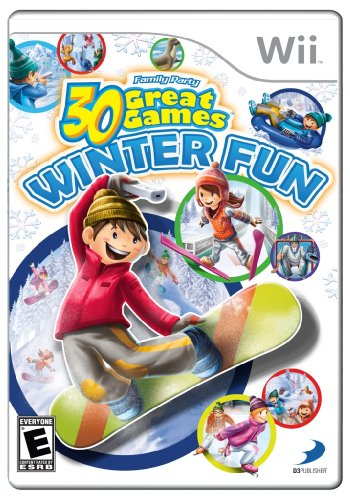 Family Party Winter Fun - Nintendo Wii