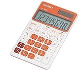 カシオ カラフル電卓 手帳タイプ 8桁 SL-300B-RG-N フレッシュオレンジ