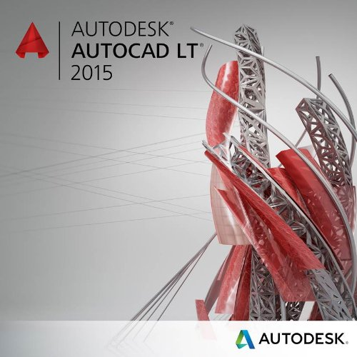 Autodesk AutoCAD LT 2015 Commercial New SLM EN/FR/DE/IT/ES/PT (PC)