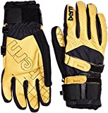 Bern Men's Leather with Removable Wrist Guard Gloves