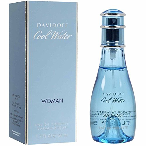 Davidoff Cool Water Woman Eau de Toilette, Donna, 50 ml